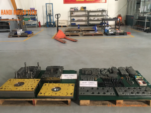 Hasco standard injection mould