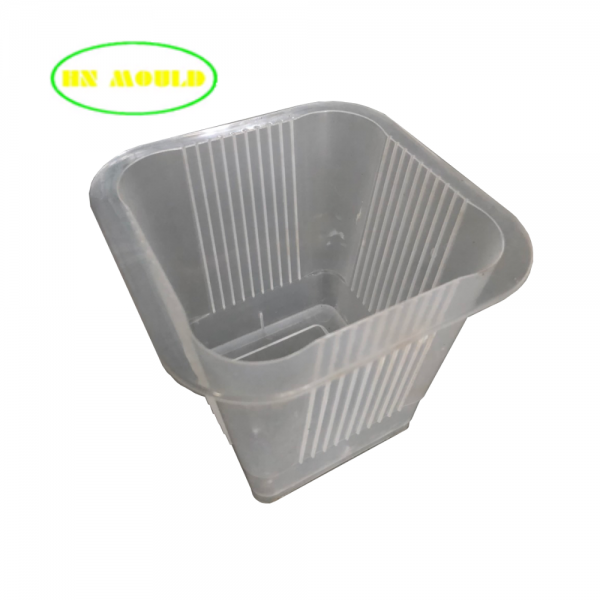 Thin wall plastic cups