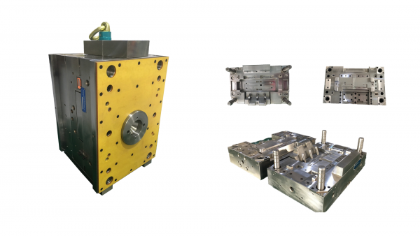Plastic injection mould for Euro market