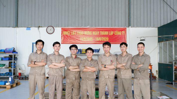 Hanoi Mould - where professional plastic injection machine operators converge